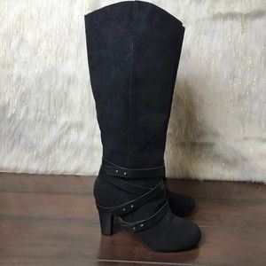 Fergalicious by Fergie   Tall Heeled Boots